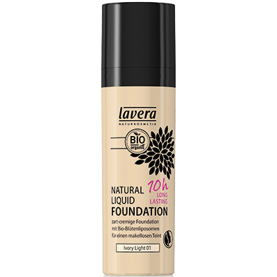 Natural Liquid Foundation «Ivory Light 01»