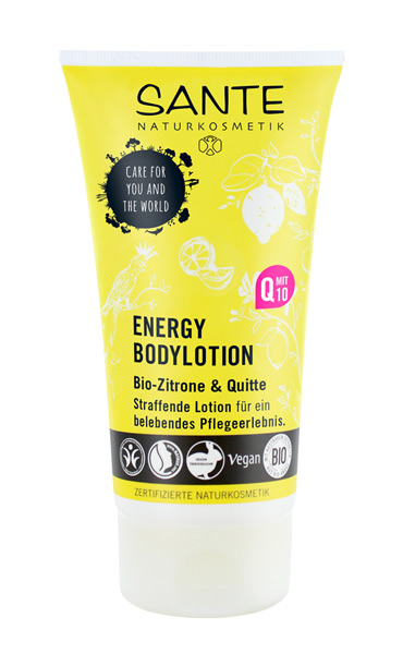 Energy Bodylotion «Bio-Zitrone & Quitte»