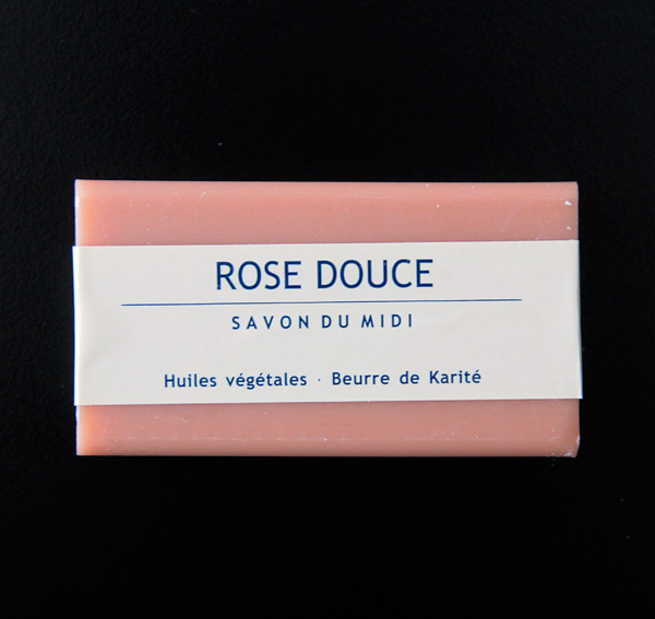 Karité-Seife «Rose Douce»