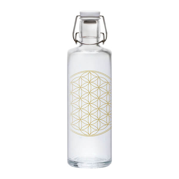 Trinkflasche Flower of Life, 1l