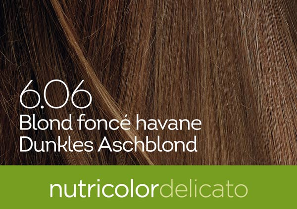 Nutricolor Delicato 6.06 dunkles Aschblond