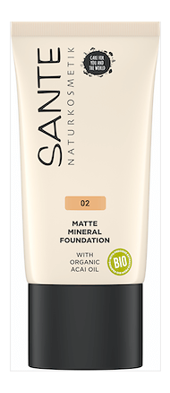 Foundation Matte Mineral 02 Warm Meadow