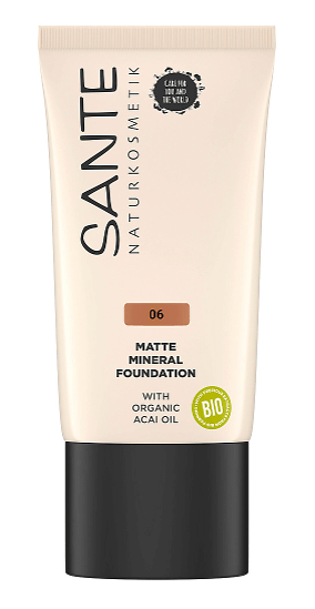 Foundation Matte Mineral  06 Warm Caramel