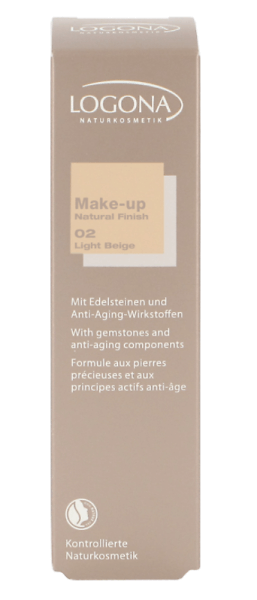Make-up Natural Finish No. 02 «light beige»